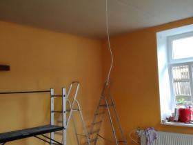 Snižování stropů sádrokartonem